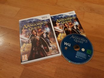 LORD OF THE RINGS ARAGORNS QUEST WII / WIIU BEG