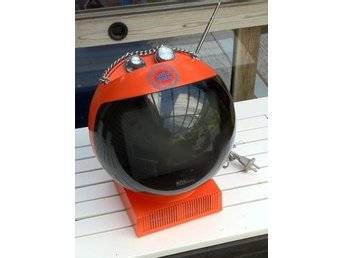 """Klot-TV""    JVC Nivico  70´s ball tv 3240"