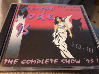 "CD Depeche Mode ""The Complete Show '93 - Live At The Ahoy Rotterdam"""