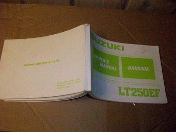 Suzuki LT250EF 1986 Handbok NY - årsta - Suzuki LT250EF 1986 Handbok NY - årsta