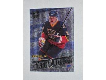 1995-96 Brett Hull #8 Extra Attacker Fleer Ultra Extra - Tingsryd - 1995-96 Brett Hull #8 Extra Attacker Fleer Ultra Extra - Tingsryd