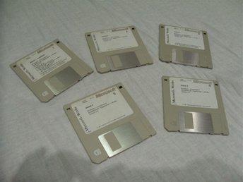 Microsoft Works 3.0 på disketter - Luleå - Microsoft Works 3.0 på disketter - Luleå