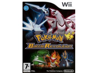 Svenskt Pokemon Battle Revolution Nintendo Wii