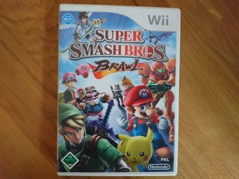 Super smash bros brawl wii wiiu