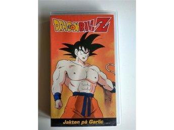 VHS Dragonballz Dragonball Z - Jakten på Garlic / Barn / Akira Toriyama - Hudiksvall - VHS Dragonballz Dragonball Z - Jakten på Garlic / Barn / Akira Toriyama - Hudiksvall