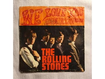 EP DECCA: Med THE ROLLING STONES, We Love You / Dandelion