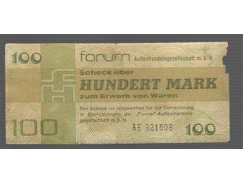 T-0116. DDR FORUM 100 MK 1979 BAD CONDITON , BUT RARE! - Jakobstad - T-0116. DDR FORUM 100 MK 1979 BAD CONDITON , BUT RARE! - Jakobstad