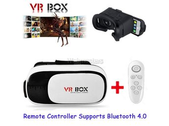 3D VR Glasses Virtual Reality Headset VR BOX 2.0 + Kontroll