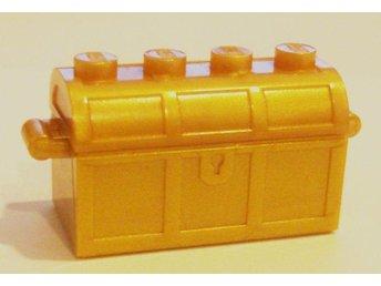 Lego - Figurer / Djur / Tillbehör - Kista / Skattkista Guld ny!! - Uddevalla - Lego - Figurer / Djur / Tillbehör - Kista / Skattkista Guld ny!! - Uddevalla