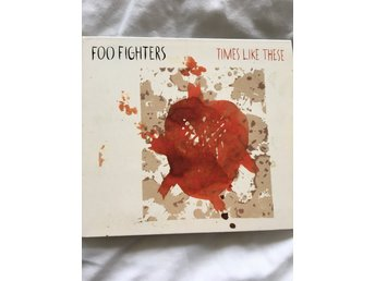 Foo Fighters - Times Like These ( 3 låtar + video ) ( Digipack )