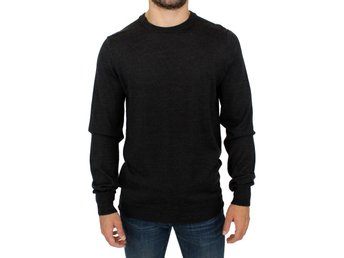 Costume National - Gray crewneck pullover sweater