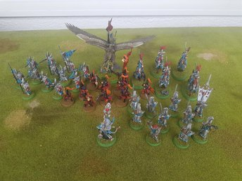 Warhammer Age of Sigmar - High Elves (Round Bases)