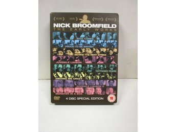 NICK BROOMFIELD - THE EARLY WORKS (4 DISK) - MKT FINT SKICK!