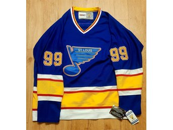 Wayne Gretzky St. Louis Blues Hockey tröja NY!