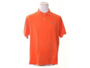 Lacoste, Pikétröja, Strl: M, Orange