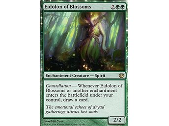 Magic the Gathering - Journey into Nyx - Eidolon of Blossoms - FOIL