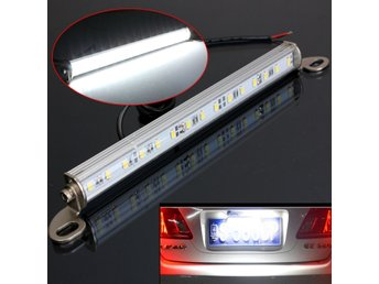 Car Van Truck Trailer 15 LED License Number Plate Light B...