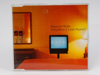 Depeche Mode: Only When I Lose Myself UK Promo CD, (RCD Bong 29) 1998