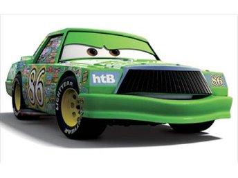 Disney Pixar - Cars / Bilar / Mcqueen - Åskan  Chick Hicks 86 NY metall!