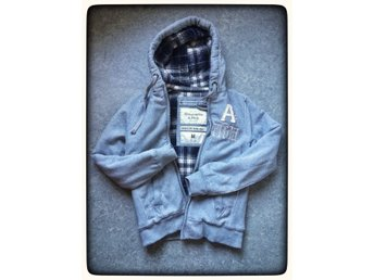 Abercrombie & Fitch Grindstone Creek jacka M Hoodie huvjacka classic fit