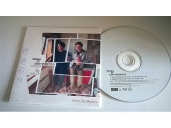 Kings of Convenience - Weight of my words, single CD, promo