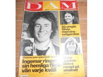 Svensk Dam nr6 1979 Silvia,Ingemar Stenmark,Bosse Högberg,Fam Ekman,Allan Edwall - östersund - Svensk Dam nr6 1979 Silvia,Ingemar Stenmark,Bosse Högberg,Fam Ekman,Allan Edwall - östersund
