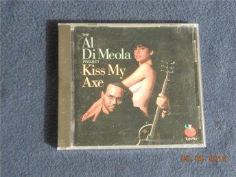 AL DI MEOLA PROJECT - kiss my axe, CD Tomato USA 1991 Fusion - Gävle - AL DI MEOLA PROJECT - kiss my axe, CD Tomato USA 1991 Fusion - Gävle