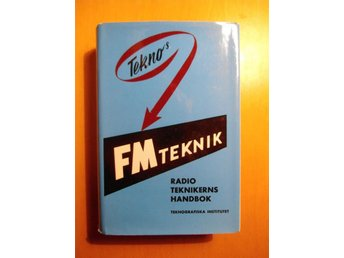 #### TEKNO'S FM-TEKNIK, MINT CONDITION, UTGIVEN 1964 ####