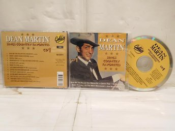 DEAN MARTIN - SINGS COUNTRY FAVORITES - CD 1
