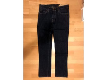 Hollister Palm Canyon Low Rise Skinny Fit Jeans - 31x32 - mörkblå