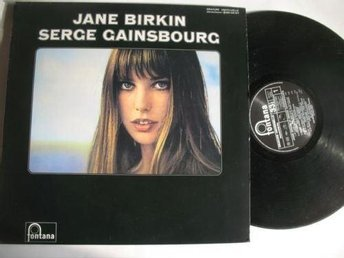"SERGE GAINSBOURG /JANE BIRKIN ""  - Reissue-  RAR LP"