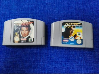 Bond / Goldeneye & The World Is Not Enough - Nintendo 64 - PAL