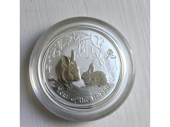 2011 1/2 OZ, Lunar year if the Rabbit
