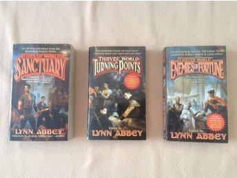Lynn Abbey, Thieves World (hela den senare serien, 3 böcker) - Göteborg - Lynn Abbey, Thieves World (hela den senare serien, 3 böcker) - Göteborg