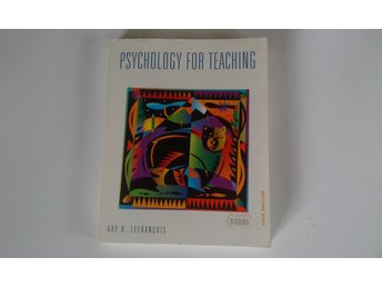 Psychology for Teaching av Guy R. Lefrancois ( språk engelska)