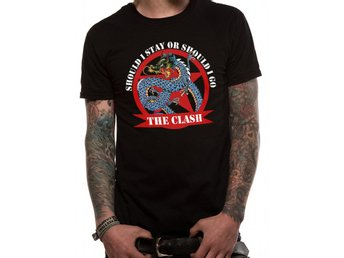 THE CLASH - SHOULD I STAY DRAGON (UNISEX) T-Shirt - Small