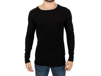 Costume National - Black crewneck wool sweater