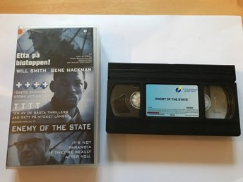 VHS Enemy of the state - Will Smith Gene Hackman