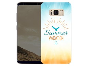 Samsung Galaxy S8 Plus Skal Summer Vacation