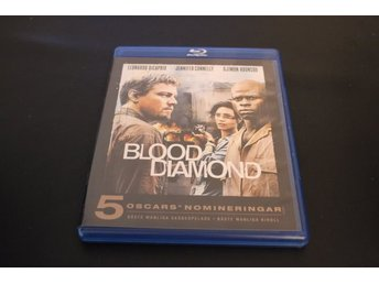Bluray-film: Blood Diamond (Leonardo DiCaprio, Jennifer Connelly,Djimon Hounsou)