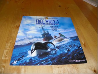Free Willy 3 - AC-3 - Widescreen laserdisc - 1st Laserdisc