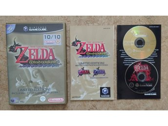 Nintendo GameCube: Zelda: The Wind Waker Limited Edition (finsk manual)