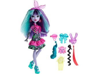 Monster High Twyla Electrified Hair Ghouls Doll Docka 30cm