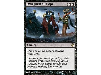 Magic the Gathering - Journey into Nyx - Extinguish All Hope - FOIL
