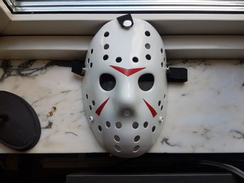 Jason Voorhees Fredagen den 13e Friday the 13th Shelly Halloween Clean Mask