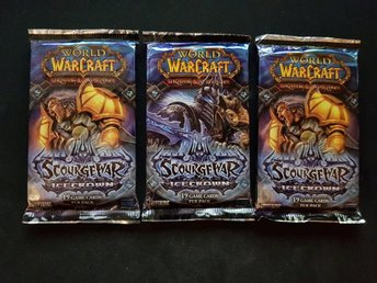 3st World of Warcraft TCG Kort - Icecrown Booster Pack