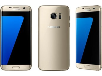 Samsung Galaxy S7 Edge 32GB, guld, gold, GOTT SKICK