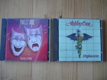 2 ST CD, MÖTLEY CRUE, THEATRE OF PAIN, DR FEELGOOD.