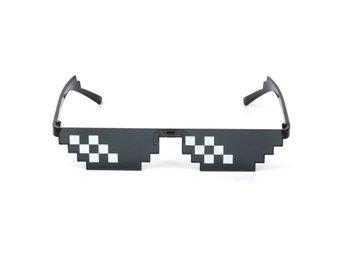 Thug Life Glasögon Meme Solglasögon Pixel