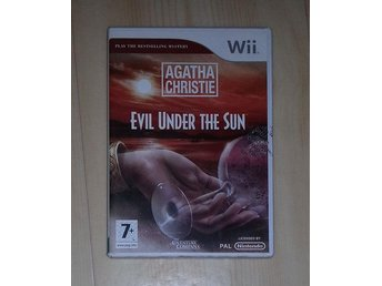 Spel Wii Agatha Christie evil under the sun